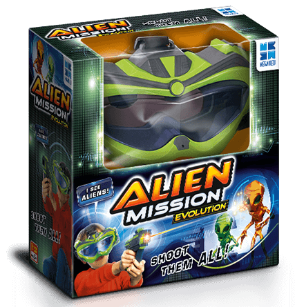 Alien Mission Evolution Game in a box