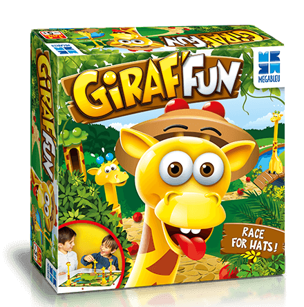 Giraf'fun Game in a box