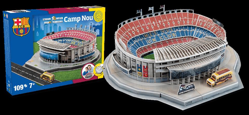 Puzzle 3D Camp Nou FC Barcelone stadion