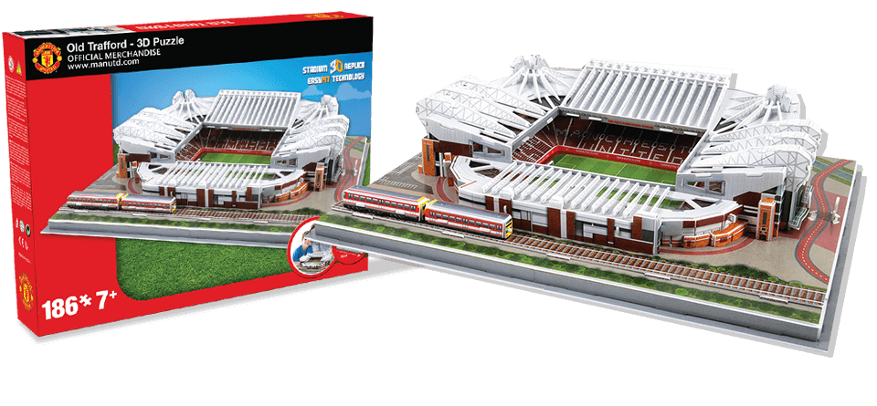 Puzzle 3D Old Trafford Manchester United stadion