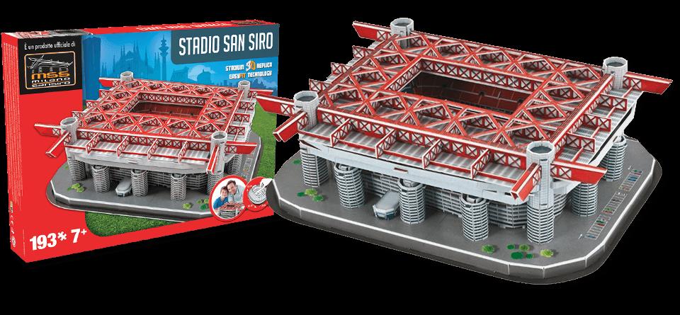 Puzzle 3D San Siro Milan AC stadion