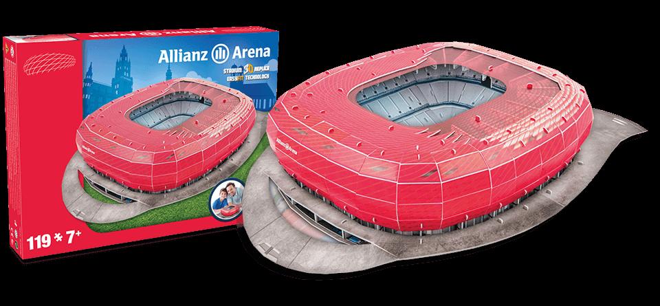 Puzzle 3D Allianz Arena Munich stadion