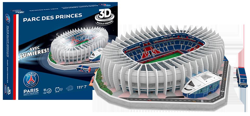 Puzzle 3D Parc des Princes PSG Paris stadion