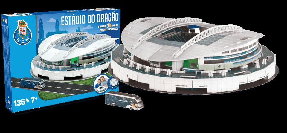 Puzzle 3D Do Dragao Porto stadion